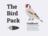 The Bird Pach   Goldfinch
