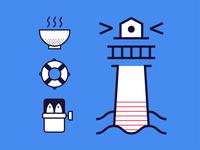 Ashdod City Icons