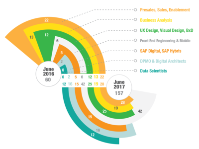 Data visualisation- team expansion plan