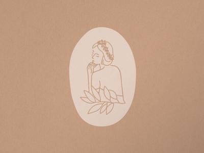 TERRA BRIDAL MARK vector floral logo logo design bridal simple illustrations illustration branding