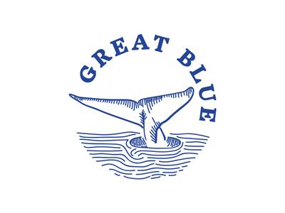 Unused Great Blue logo