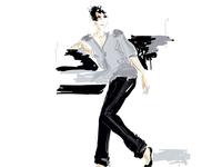 Fashion illustration for Atelier1 Corner for Doverstreet market