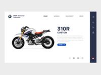 Landing page BMW Motorrad