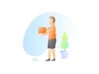 Postman Illustration