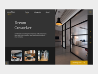 Dream Coworker Landing Page