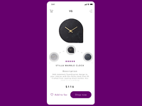 Animation of concept for shop with clocks