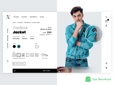 PWA concept for Vue Storefront Fashion Shop - checkout