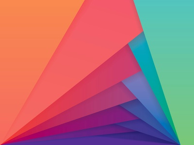 Color Pattern by Diana Hlevnjak Dribbble