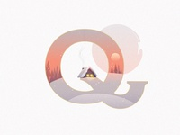 A Winter Tale Collection- letter Q