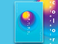 Color Exploration Poster Templates