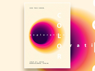 Color Exploration Poster Templates