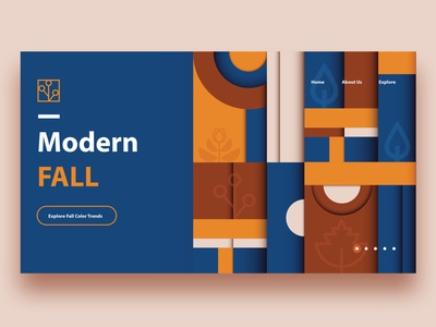 Modern Fall Branding Collection