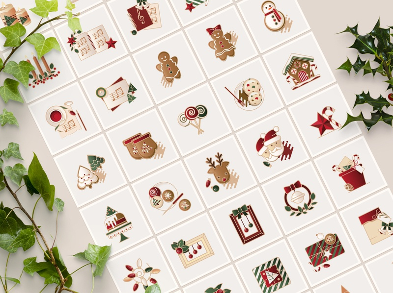 Christmas Special Icon Collection christmas ornaments illustration colorful ui christmas gift christmas tree gingerbread house gingerbread man cookies santa christmas christmas icons vector icons