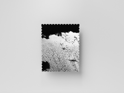 Stamp Series 01/03 dribbbleweeklywarmup black and white cold minimalistic textures photographic series stamp abstract design 2019