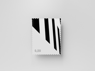 Stamp Series 03/03 shooting berlin photograph dribbbleweeklywarmup series minimalistic black and white abstract 2019 stamp