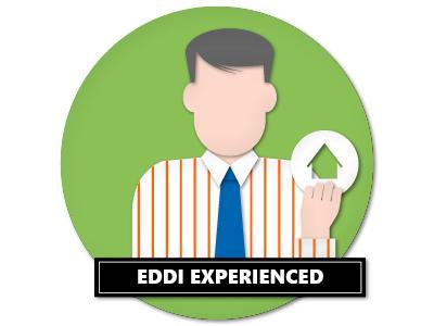 Personas Eddi Experienced Papercut papercut vector illustration
