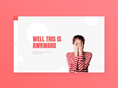 404 page dailyui008 008 ecommerce web dailyuichallenge daily challange dailyui ux design ui