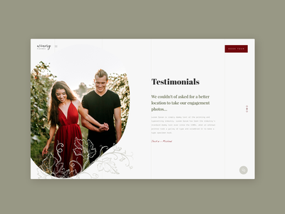 Testimonials dailyui039 039 testimonials wine website winery website typography web daily 100 challenge dailyuichallenge daily challange dailyui ux design ui