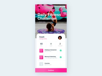 Workout Tracker UI