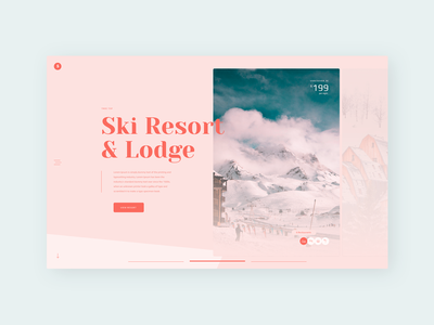 Info Cards ⛷ snowboarding ski resort dailyui045 045 bookonline website typography web daily 100 challenge dailyuichallenge daily challange dailyui ux design ui