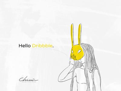Hello Dribbble // Chimù