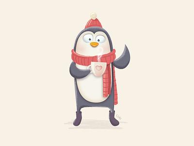 Penguin penguin vector illustration practice wip animal fun