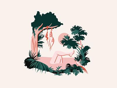 Soonds summer flyer playlist illustration digital