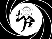 James Bond 007 for Instagram Vectober 2018