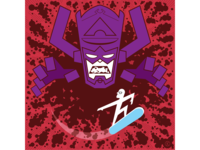 Galactus and the Silver Surfer