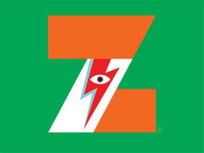Z for the Corita Kent inspired Illuminated Alphabet competition