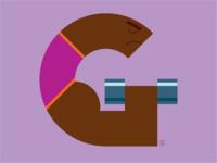 Illuminated alphabet g dribbble 2x
