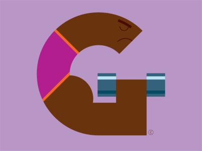 G for the Corita Kent inspired Illuminated Alphabet competition