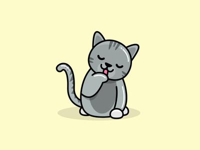 Kitty practice kitty illustration cat