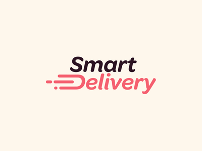Smart Delivery Logo web vector ui design branding smart logo