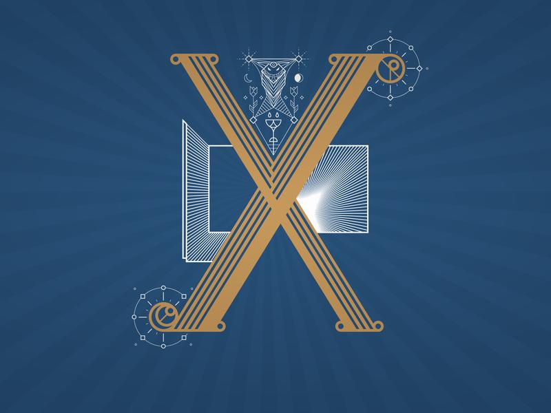 36daysoftype – X