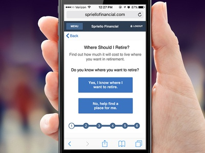 Spiriello Financial App