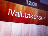 new UI for iValutakurser app