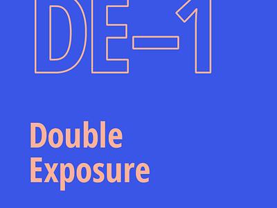 USE DE-1 Double Exposure 2014 2013 splash app use