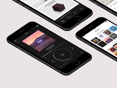 Bang & Olufsen app 1.5 multiroom lifestyle luxury visual audio speaker music player design ui app bangolufsen