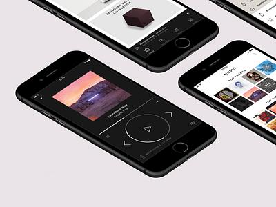 Bang & Olufsen app 1.5 multiroom lifestyle luxury visual audio speaker music player design ui app bangolufsen