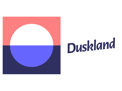 Duskland icon typography branding vector logo web mcommerce ecommerce equipment dj music identity brand design