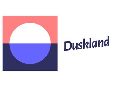 Duskland icon typography branding vector logo web mcommerce ecommerce equipment dj music identity brand design