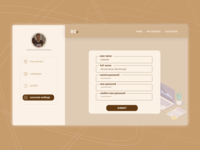 Daily Ui 007 - profile Settings For Bdx