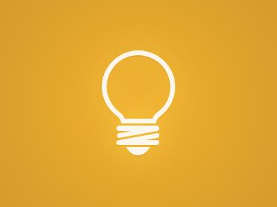 Bulb lamp bulb vector icon idea