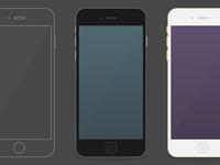 Iphone6 plus flat