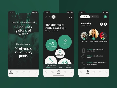 Global Warming App - Vitality app global warming app design product design ui ux