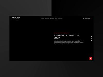 Abstract Machine Shop Headers website design visual design ux design ui design