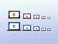 Browser / Device icons