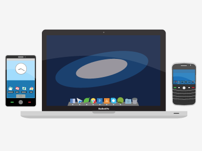 Macbook Pro, BB & Android