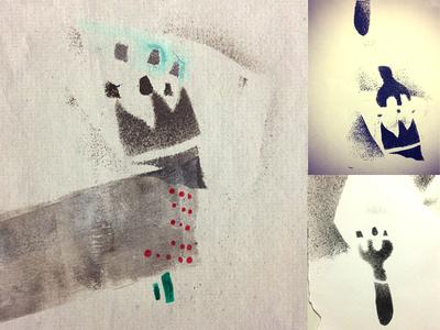 Printing 2012 - Weird creatures